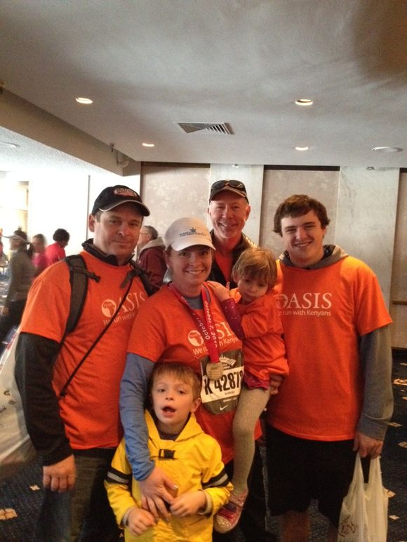 Marathon cheer crew